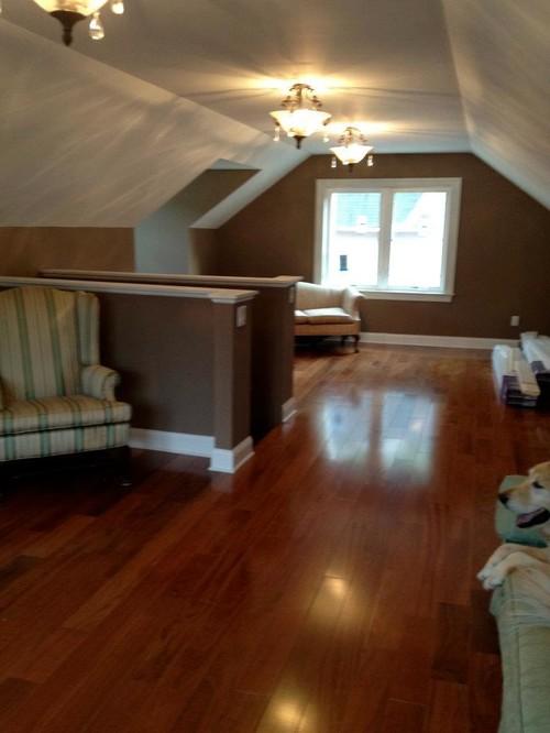 add bathroom to attic master