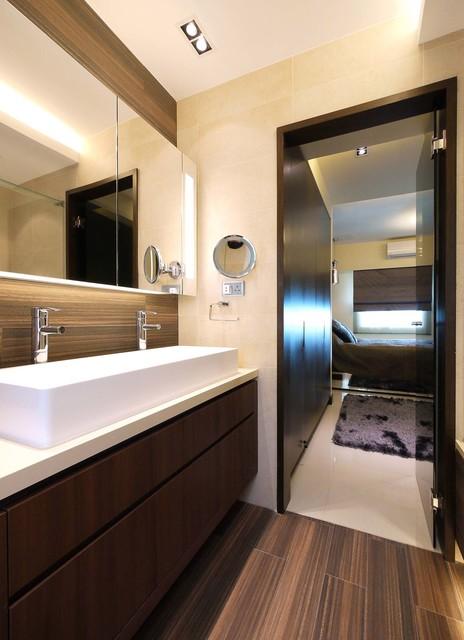Mordern Indian Apartment - Contemporary - Bathroom - hong ...