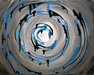"""""""Sea Swirl"""" Original Artwork By Preethi Mathialagan"""