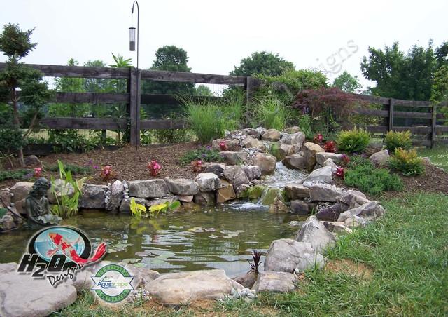 Ideas Pond Small Koi
