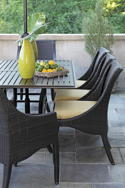 outdoor resin wicker patio furniture sets resin wicker patio dining set - Modern - Patio