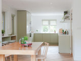 scandinavian-kitchen A Designer Opens Up the Living Area in a Compact English Home  upholstery in clapham junction