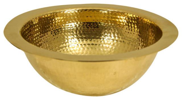 nantucket sinks 13 hand hammered brass round undermount bar room sink