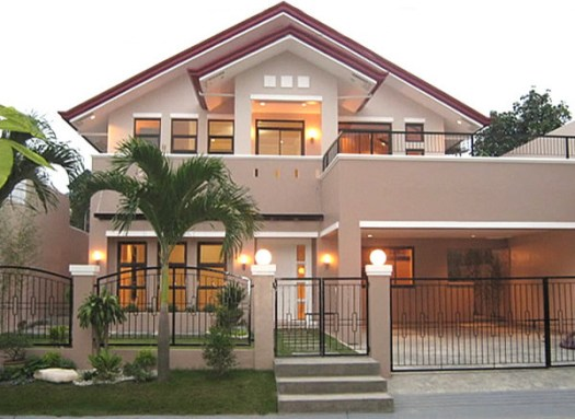 Asian House Exterior