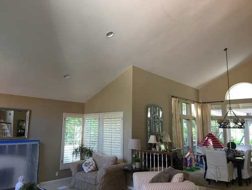 Paint Ceiling White Or Same Color As Walls Www