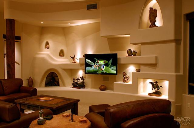 Southwestern Family Room