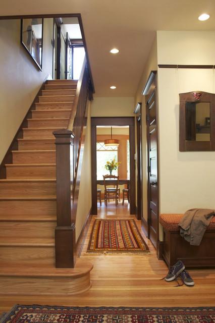 Hallway Traditional Hall Portland By Emerick Architects