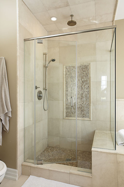 master bathroom shower - contemporary - bathroom - toronto - by k