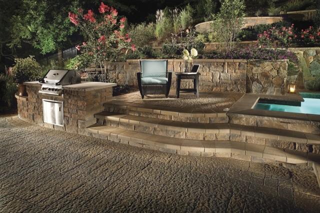 Custom Patio Design - Retaining Wall and Landscape Design ... on Custom Backyard Designs id=29990
