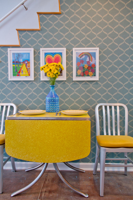Charmean Neithart Interiors for Teen Project modern-dining-room