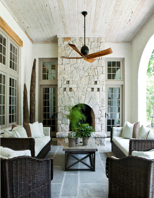 Buckhead Manor mediterranean-porch