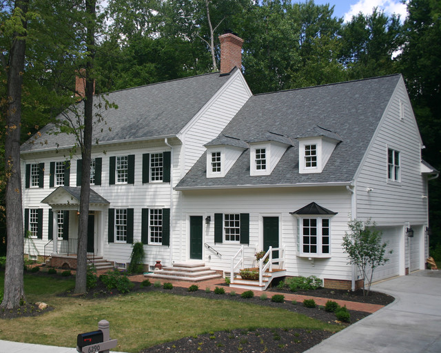 Williamsburg Colonial Exterior Traditional Exterior