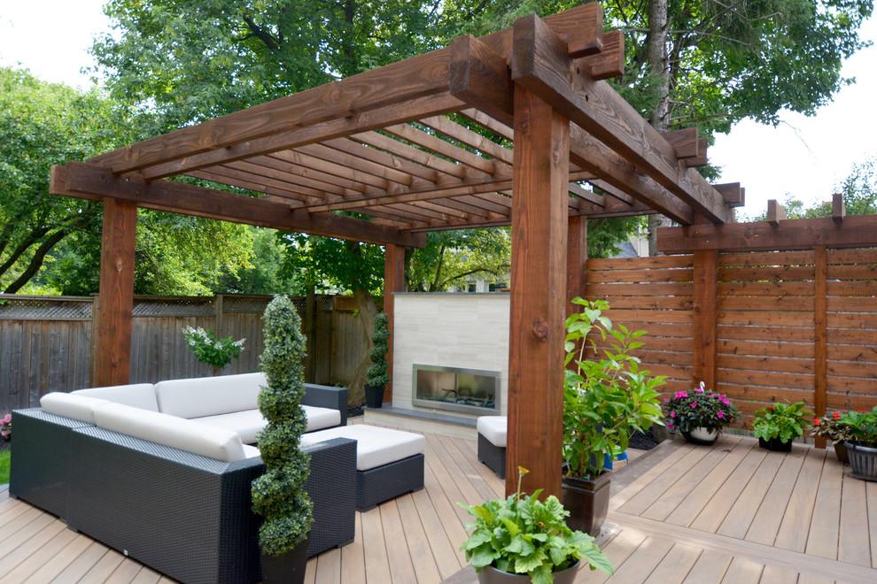 modern pergola outdoor living modern deck toronto Pergola Modern Design id=62853