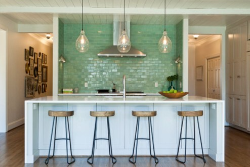 Waterfall Edges for Kitchen Countertops and Islands Photo by Cabico Custom Cabinetry   Search kitchen pictures on Houzz