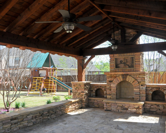 Overhead Structure/Grilling Station/Fireplace on Patio Grill Station  id=87861