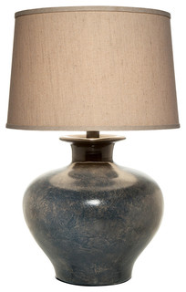 Auraelic Table Lamp With Shade, Ponderosa Blue