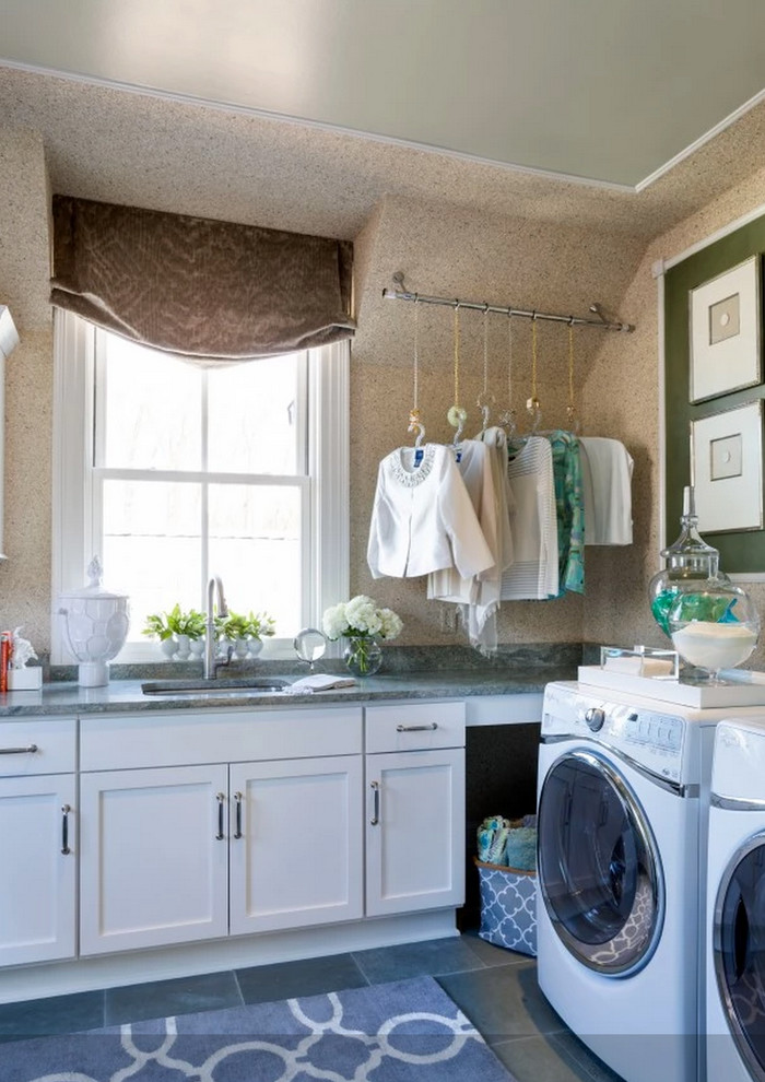 Amazing rugs in beautiful spaces - Contemporary - Laundry ... on Amazing Laundry Rooms  id=62096