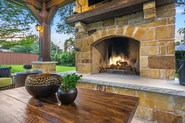 Project of the Month: September 2017 - Rustic - Patio ... on Houzz Backyard Patios  id=69370