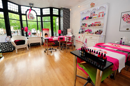 Home Nail Salon Decorating Ideas   Flisol Home Nail Salon    Source