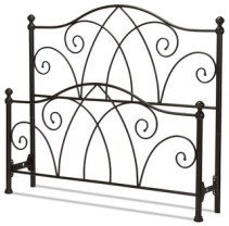 FBG Deland Headboard and Footboard, Brown Sparkle, Full, B10A14