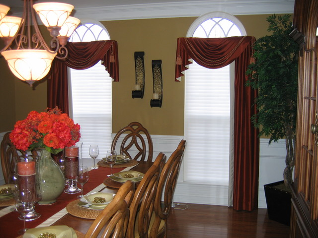 Dining Room Drapes on Dining Room Curtains  id=42826