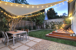 How To Install A Shade Sail In Your Backyard Toolbox Divas