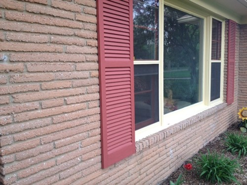 How To Paint The Exterior Lime Wash Brick Trim Colors