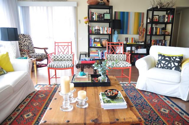 Living Room in Rio de Janeiro eclectic-living-room