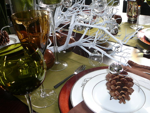 WINTER HOLIDAY TABLESCAPE