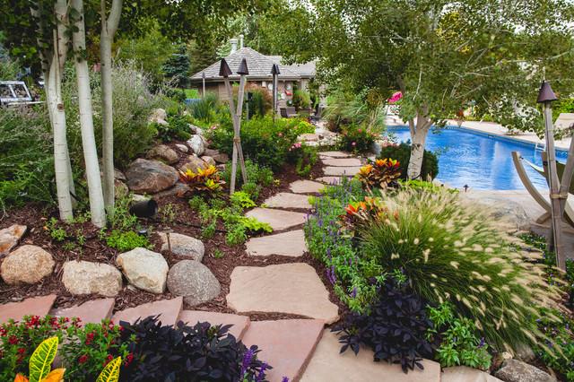 Backyard Dream - Tropical - Landscape - Omaha - by Sun ... on Dream Backyard Ideas id=74530