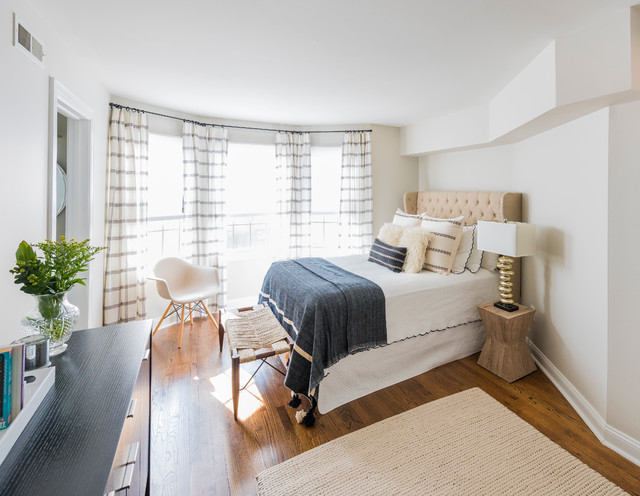 Boho Luxe Transitional Bedroom Philadelphia By PS