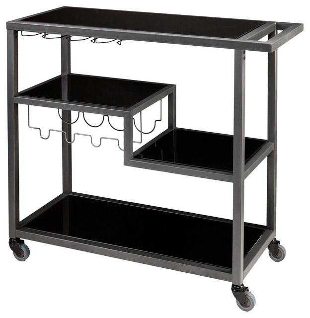 Holly and Martin Zephs Bar Cart contemporary-bar-carts