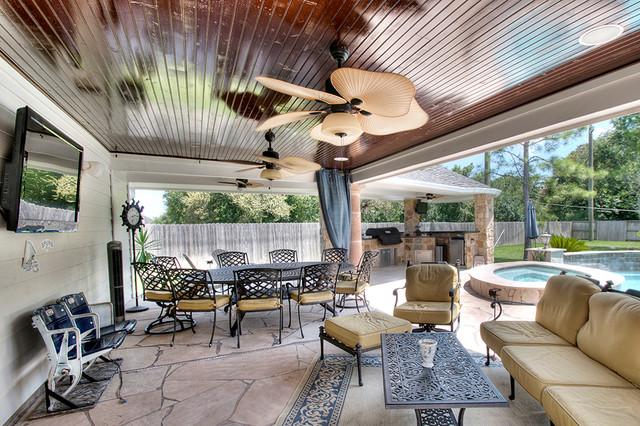 Outdoor Patio Extension-Sugar Land, Texas on Backyard Patio Extension Ideas id=32793