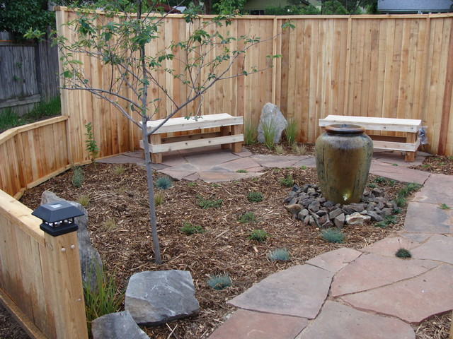 Meditation Garden - Traditional - Landscape - denver - by ... on Meditation Patio Ideas  id=45680