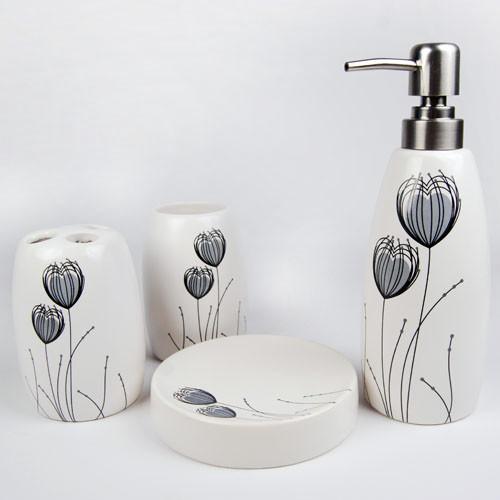 Modern Bathroom Accessories Set