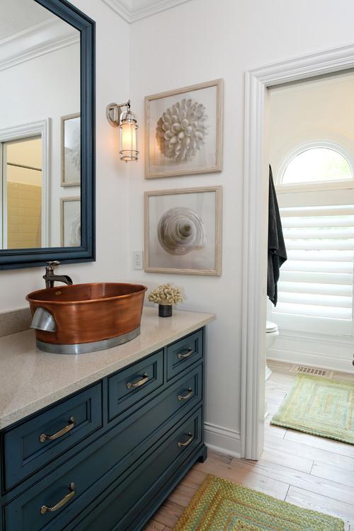 łazienka W Stylu Marynistycznym Poradnik Blog Villadecor