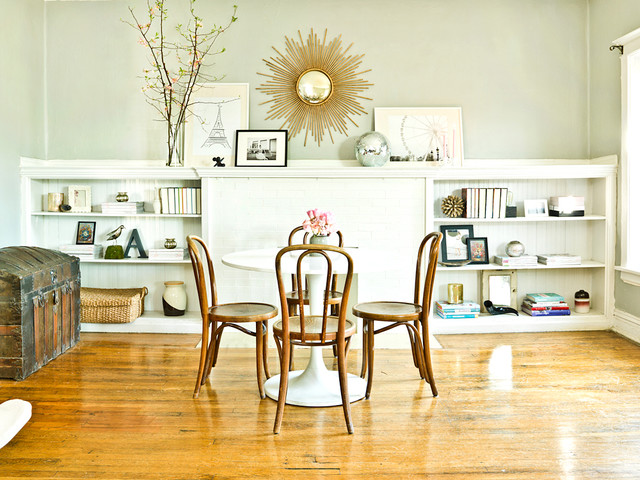 The Everygirl eclectic-dining-room