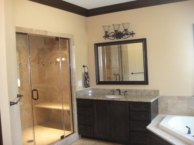 Parade of Homes Model - Modern - Bathroom - cleveland - by ... on Bathroom Models  id=29538