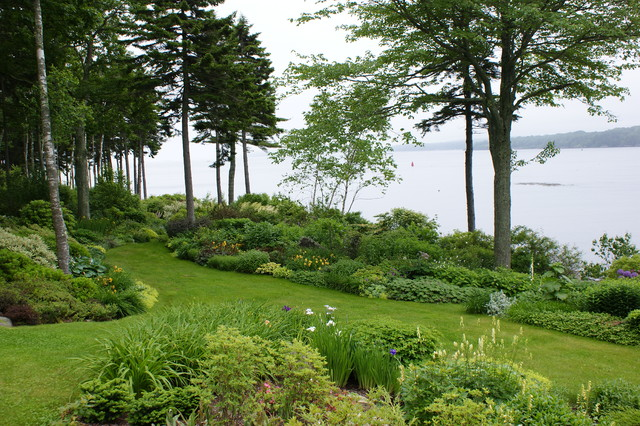 Coastal Garden Design - Beach Style - Landscape - Portland ... on Coastal Backyard Ideas  id=99339