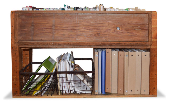 Reclaimed Wood File Storage Rustic Filing Cabinets