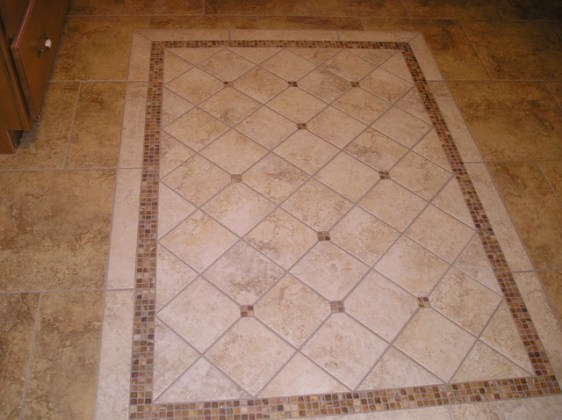 Floor Accent   Traditional   Kitchen   Boston   by Glens Falls Tile     Floor Accent traditional kitchen
