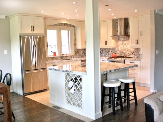 Small Kitchen Renovation - Traditional - Kitchen - Toronto ... on Small Kitchen Renovation  id=98196