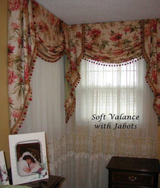 board mounted valances - traditional - bedroom - other - by the