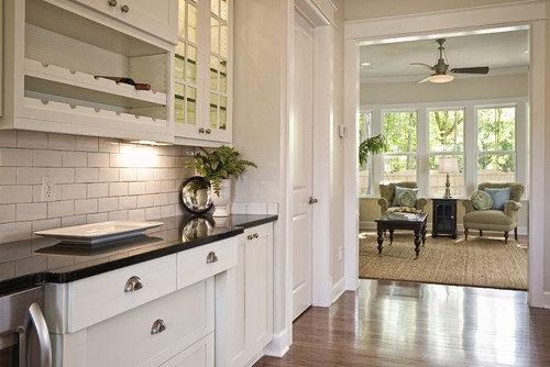 did you use sw extra white on kitchen cabinets.