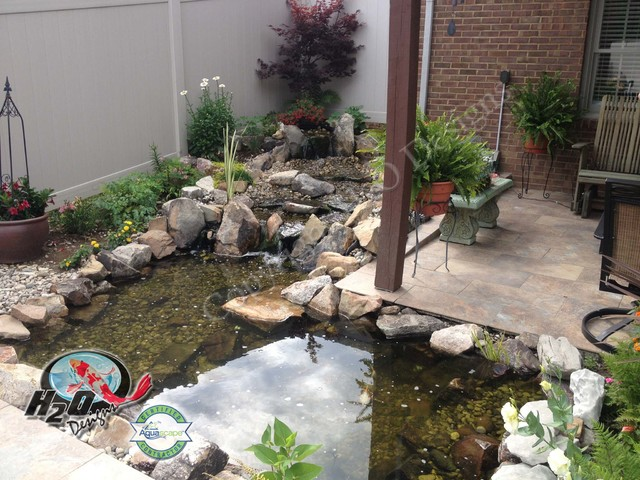 KOI Pond, Backyard Pond & Small Pond Ideas for your ... on Koi Ponds Ideas  id=72156
