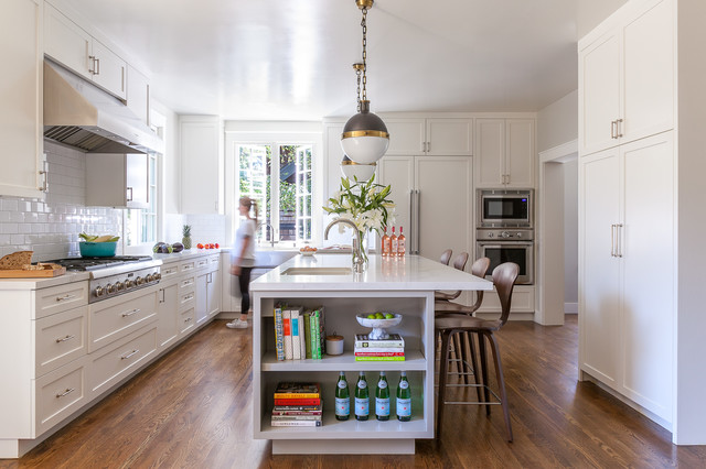 Refreshed Traditional Renovation in the Berkeley Hills transitional-kitchen