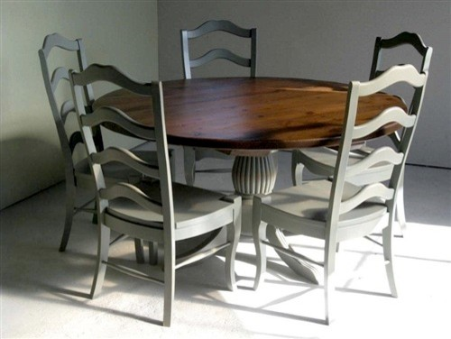 Easy Dining Table Refinish For Interior Home Design Contemporary With