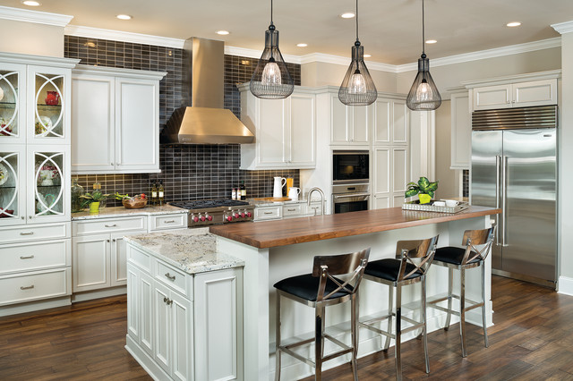 Asheville Model Home Interior Design 1264f - Traditional ... on Modern:ln_Sacsp1Ua= Kitchen Model  id=81070