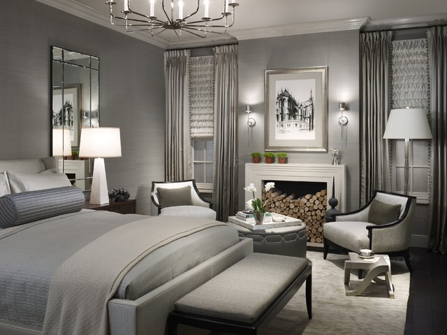 2011 Dream Home Bedroom at Merchandise Mart transitional-bedroom