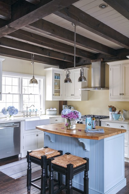 Post and Beam Kitchen farmhouse-kitchen